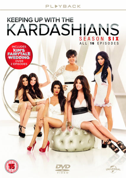 Keeping up with the kardashians season 6 dvd zavvi for 1st season of keeping up with the kardashians