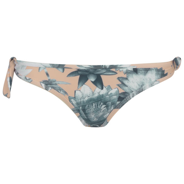 French Connection Women's Lily Collage Twist Bikini Bottoms - Melrose Multi