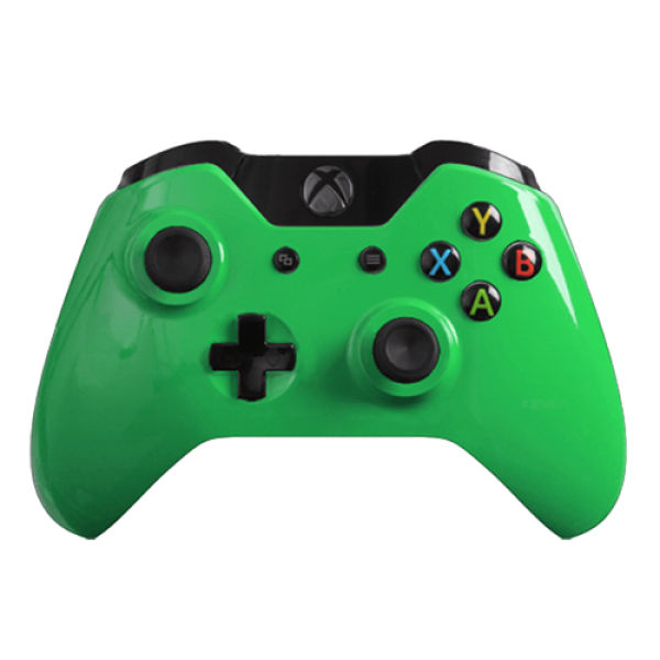 xbox one wireless custom controller gloss green zavvinl