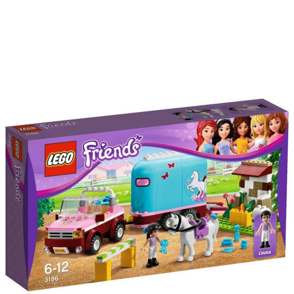 Game Toys To Practice : Lego friends emma s horse trailer toys zavvi