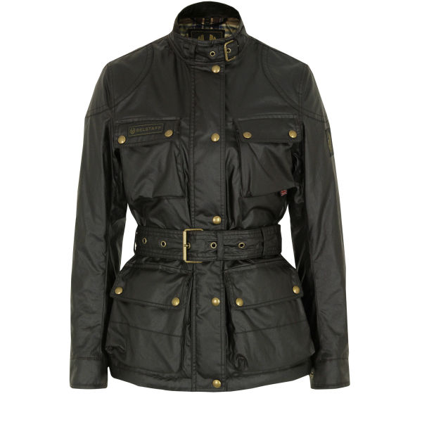 Belstaff Women's Trialmaster Jacket - Mahogany