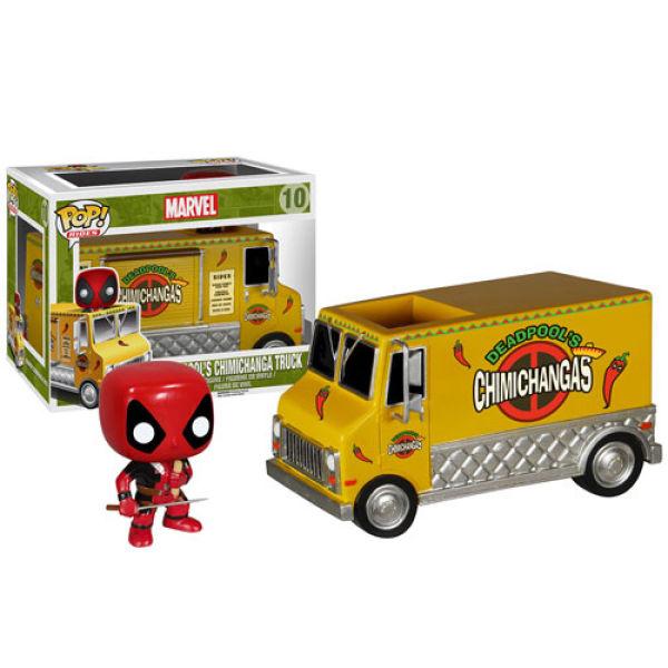 Marvel Deadpool Chimichanga Truck Truck Pop! Vinyl Vehicle