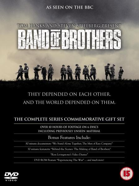 Band Of Brothers Box Set Dvd Zavvi
