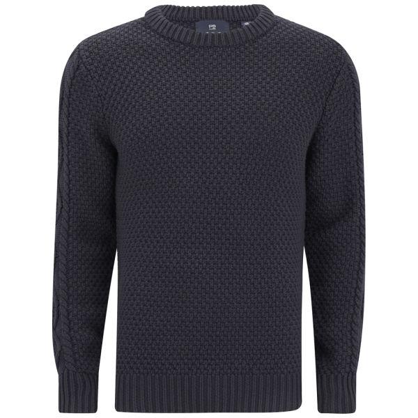 scotch soda men 39 s cable knit crew neck pullover jumper. Black Bedroom Furniture Sets. Home Design Ideas