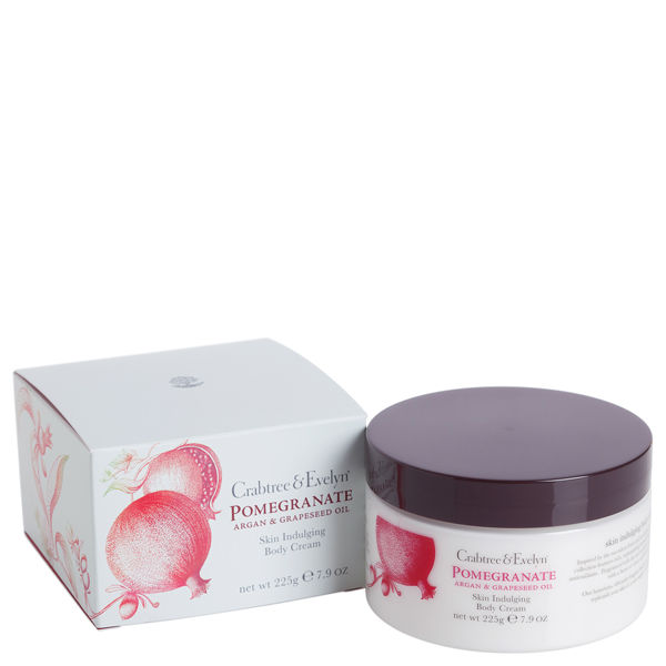 Crabtree & Evelyn Pomegranate, Argan & Traubenkern Body Creme (225 g)