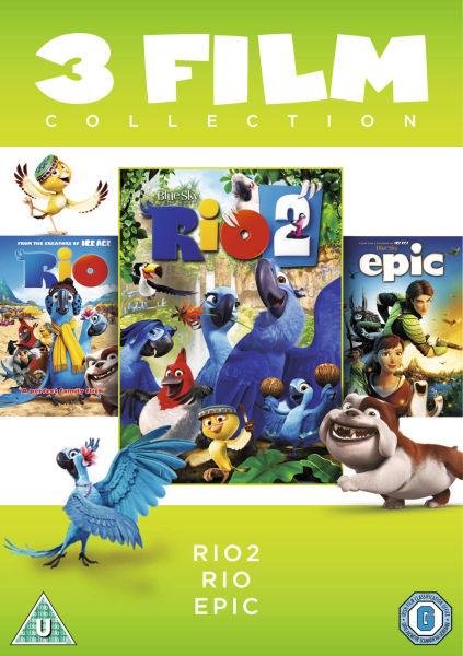 Rio 1 Rio 2 Epic Box Set Dvd Zavvi
