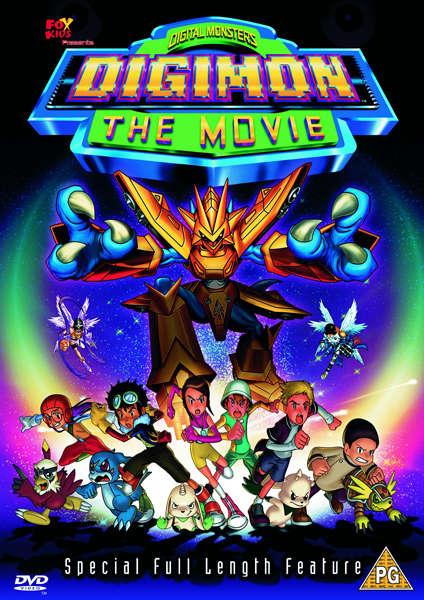 Digimon The Movie Dvd Zavvi