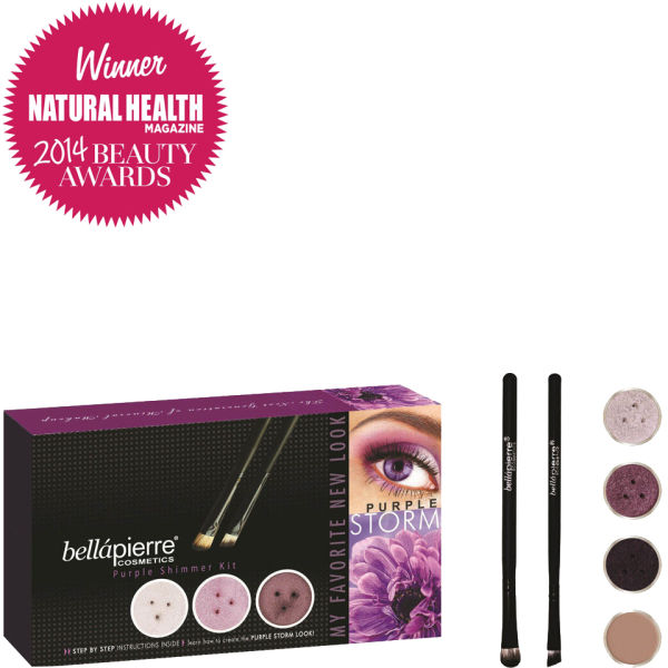 Bellápierre Cosmetics Get the Look Kit Purple Storm (Worth £81.94)