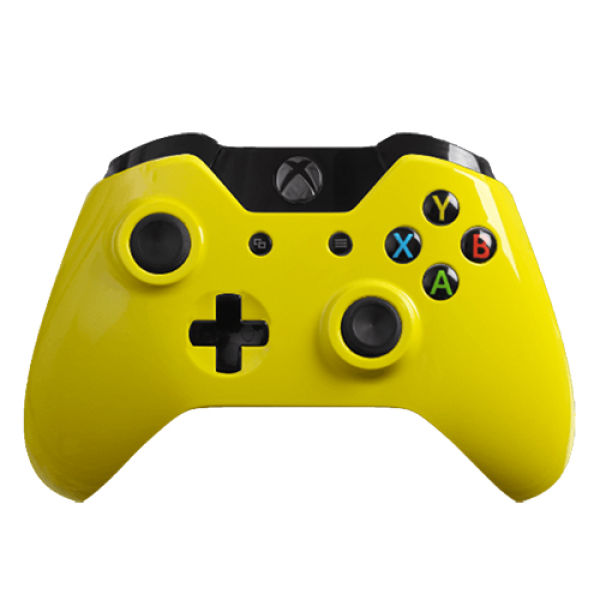 Xbox One Wireless Custom Controller Gloss Yellow Games
