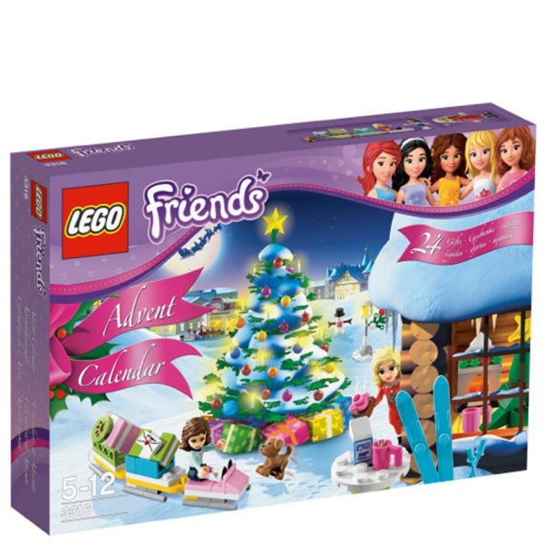 Back to previous page Home LEGO Friends: Advent Calendar (3316)