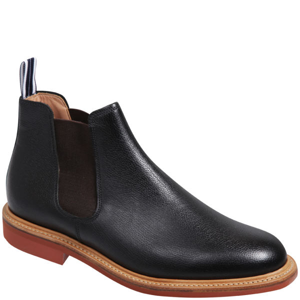 oliver spencer men 39 s leather 39 made in england 39 chelsea boots bl. Black Bedroom Furniture Sets. Home Design Ideas