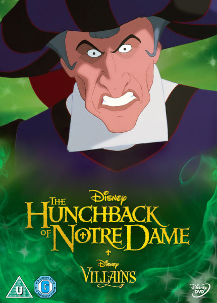 Hunchback Of Notre Dame Disney Villains Limited Artwork