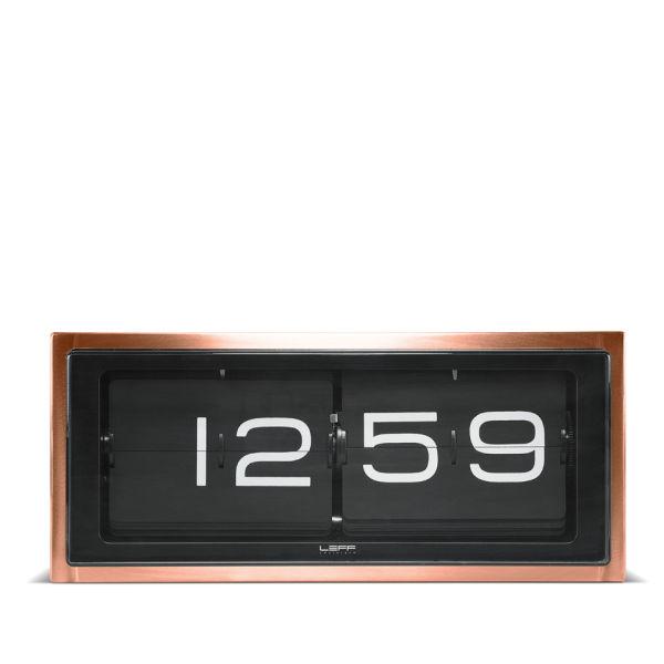 LEFF Amsterdam Brick 24 Hour Clock - Copper
