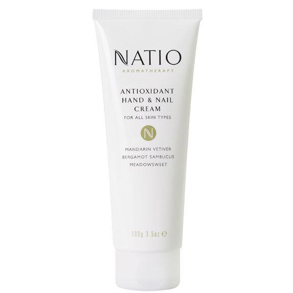 Natio Crème Antioxydant pour Mains et Ongles (100G)