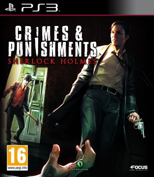 Sherlock Holmes: Crimes & Punishments PS3 Game