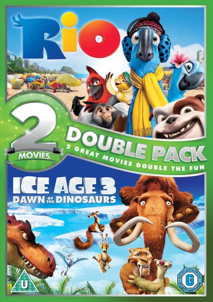 Rio Ice Age 3 Dvd Zavvi