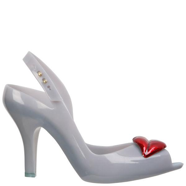 Vivienne Westwood for Melissa Women's Lady Dragon Lips Heeled Sandals - Sky