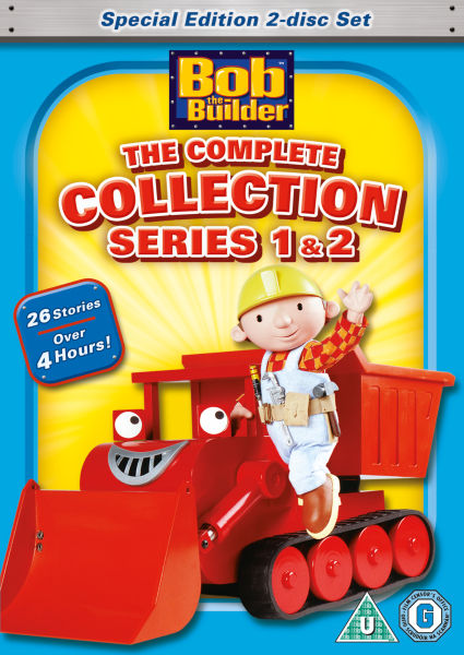 Bob The Builder Complete Series 1 And 2 Dvd Zavvi