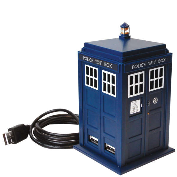 Dr Who Tardis USB 4 Port