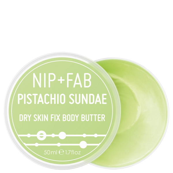 ... Home Health & Beauty Nip+Fab Mini Body Butter Pistachio Sundae (50ml