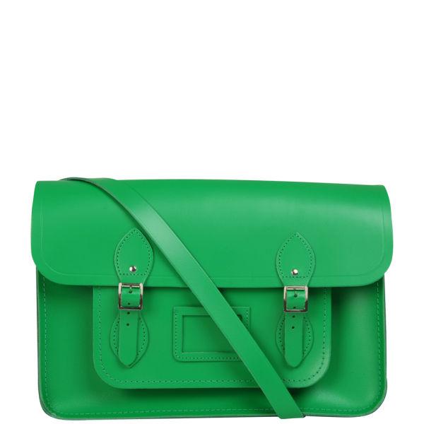 The Cambridge Satchel Company 15 Inch Leather Satchel - Green
