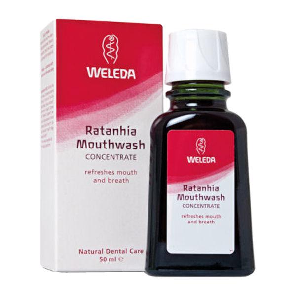 Enjuague bucal Ratanhia de Weleda (50 ml)