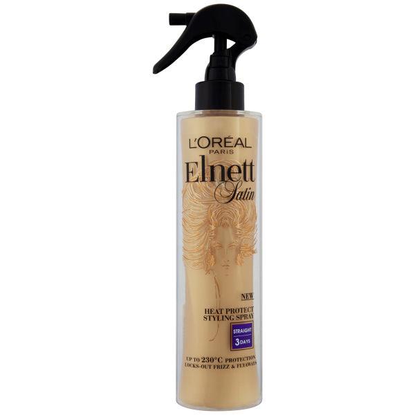 L Oreal Paris Elnett Satin Heat Protect Spray Straight