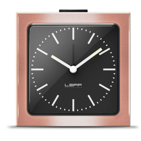 LEFF Amsterdam Block Alarm Clock - Bronze