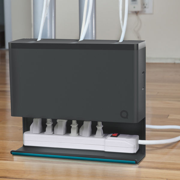 Quirky plug hub power cable organizer homeware - Under desk cord organizer ...