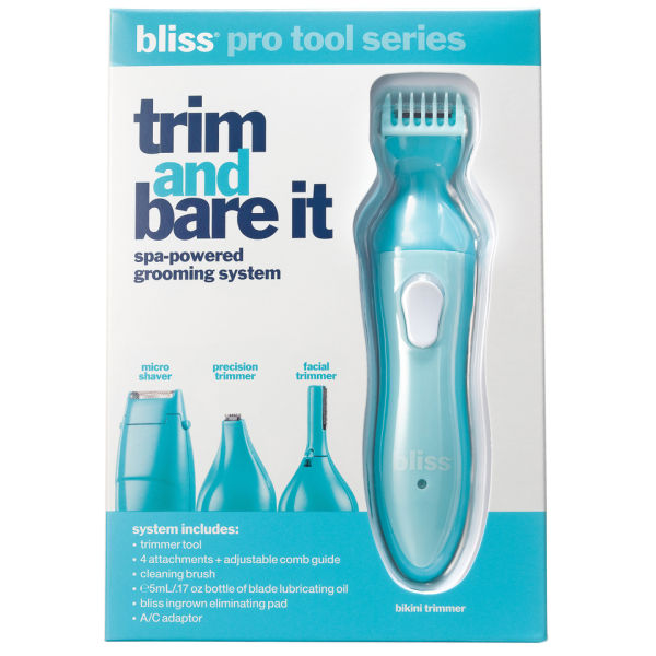 bliss Trim It and Bare It système soin de beauté