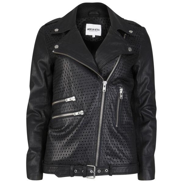 American Retro Women's Gabin Jacket - Black