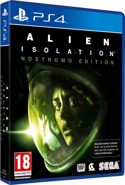 Alien Isolation Nostromo Edition Ps4 Zavvi