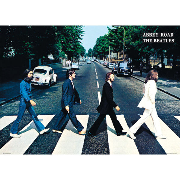 The Beatles Abbey Road - Giant Poster - 100 x 140cm