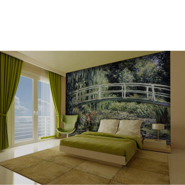 Monet Japanese Bridge Wall Mural