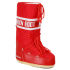 Moon Boot Women's Nylon Boots - Red: Image 1