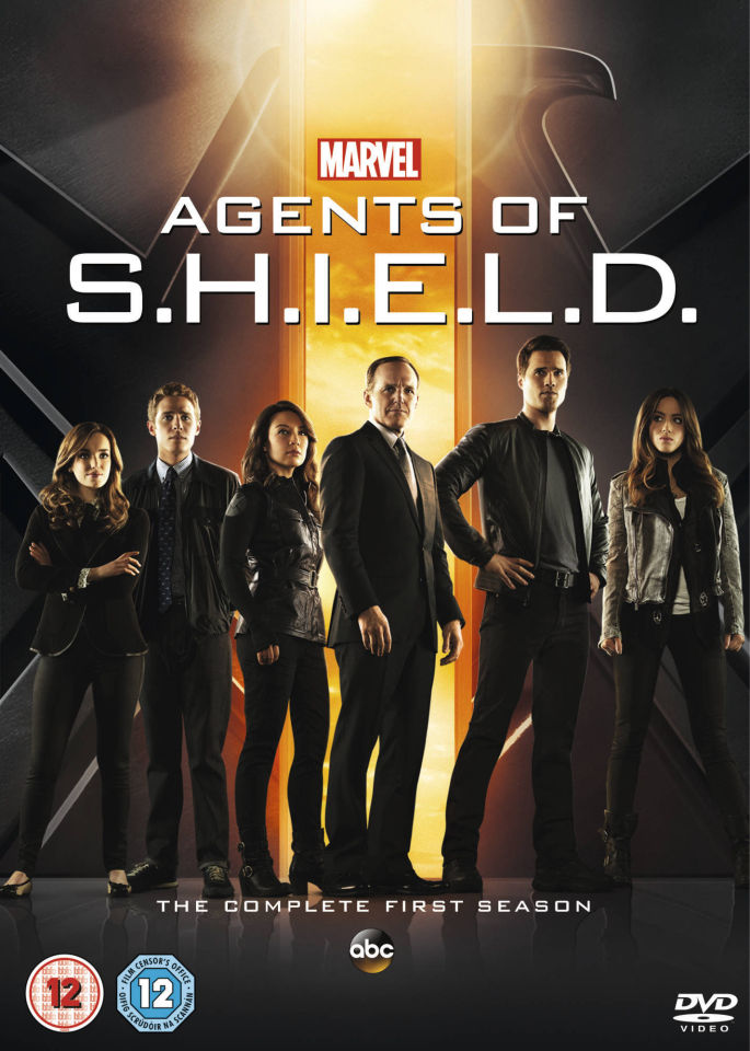 Marvels Agents of S.H.I.E.L.D. - Season One DVD