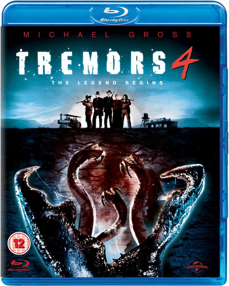Tremors 4 The Legend Begins Blu Ray Zavvi