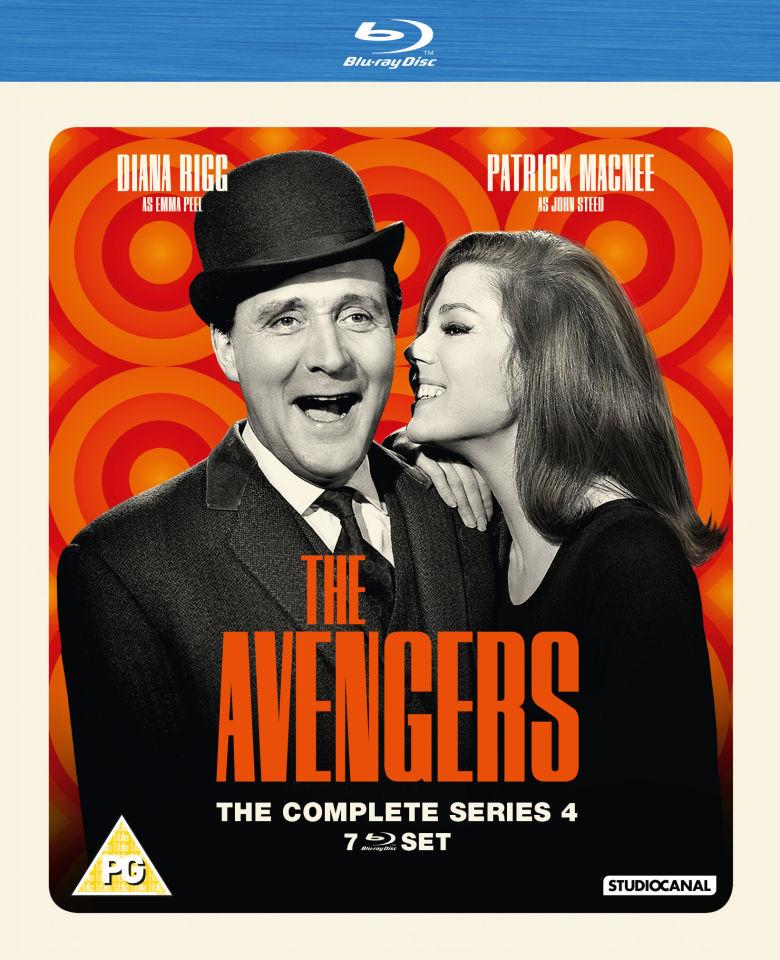 The Avengers - Series 4 Blu-ray | Zavvi.com