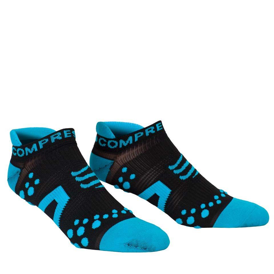 Compressport-Pro-Racing-Socks-Run-LowCut-Black-Blue