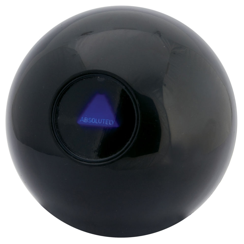 magic 8 ball iwoot. Black Bedroom Furniture Sets. Home Design Ideas