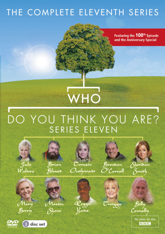 Who Do You Think You Are Series 11 Dvd Zavvi