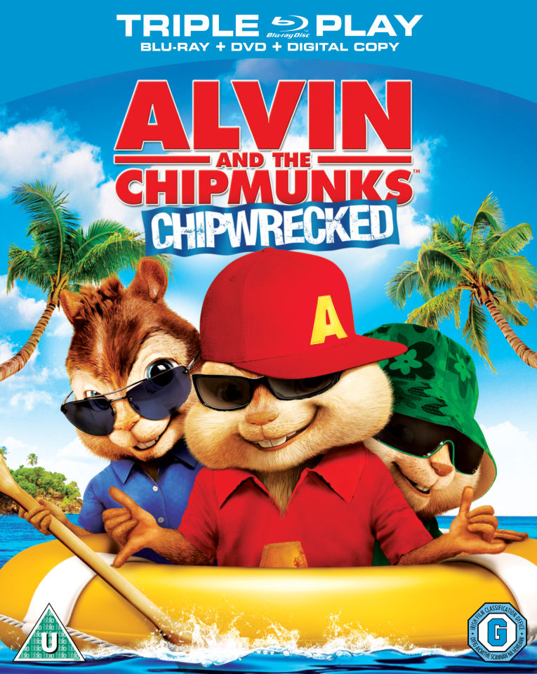 Alvin And The Chipmunks Chipwrecked Triple Play Blu