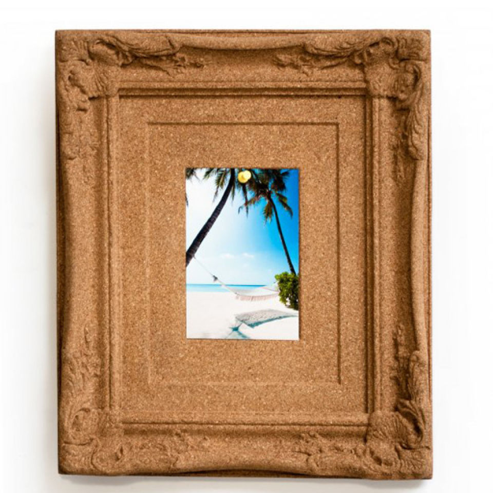 Cached Cork board photo frame