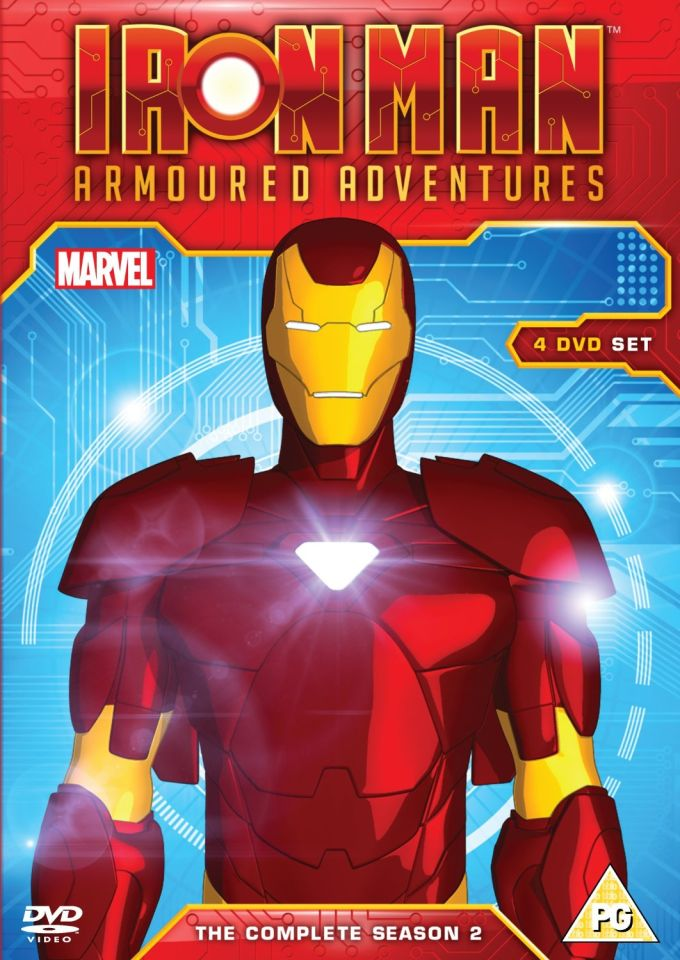 Iron Man Armored Adventures Season 2 Box Set Dvd Zavvi