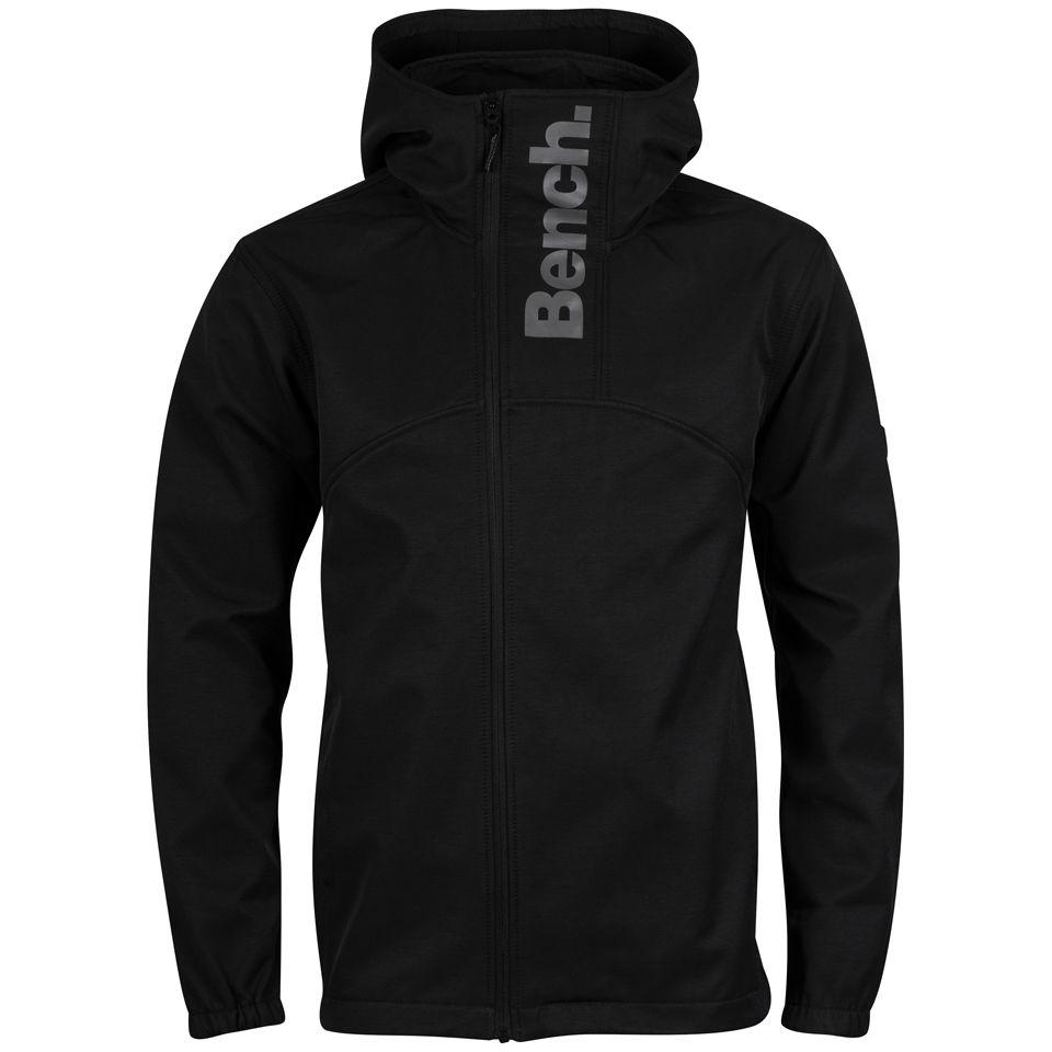 Bench Men S Commuter Jacket Black Grey Clothing Zavvi
