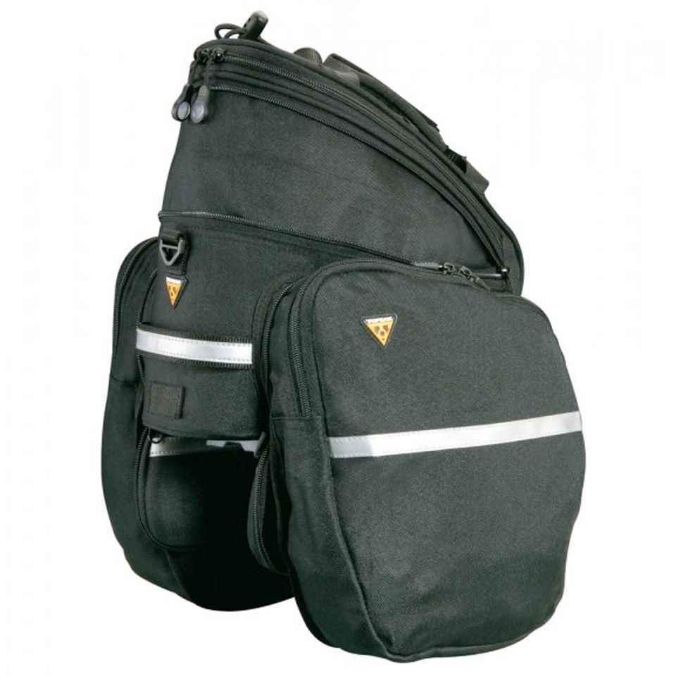 topeak trunk rack bag rx dxp with pannier ebay