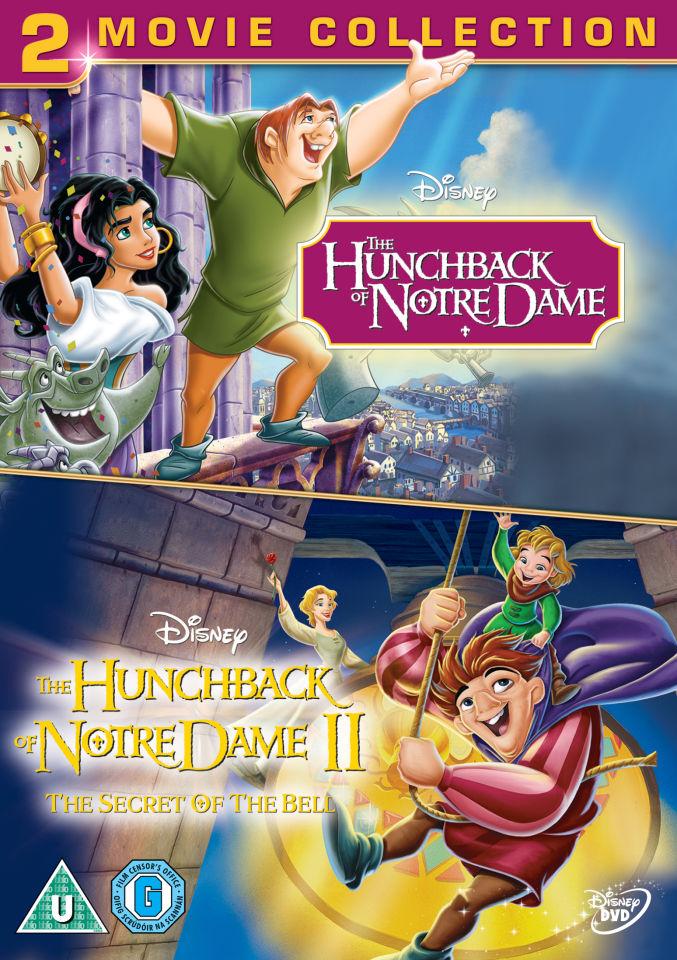 The Hunchback Of Notredame 1 And 2 Dvd Zavvi