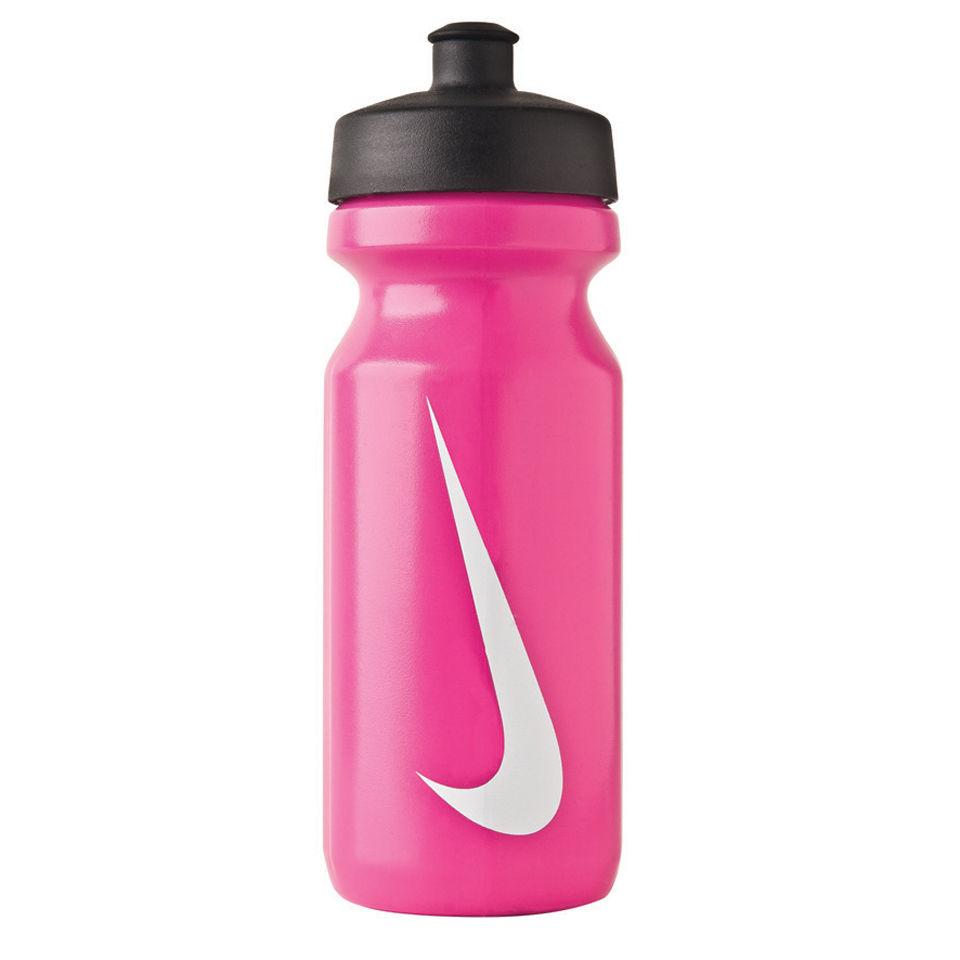 Nike Big Mouth Water Bottle Vivid Pink White Sports