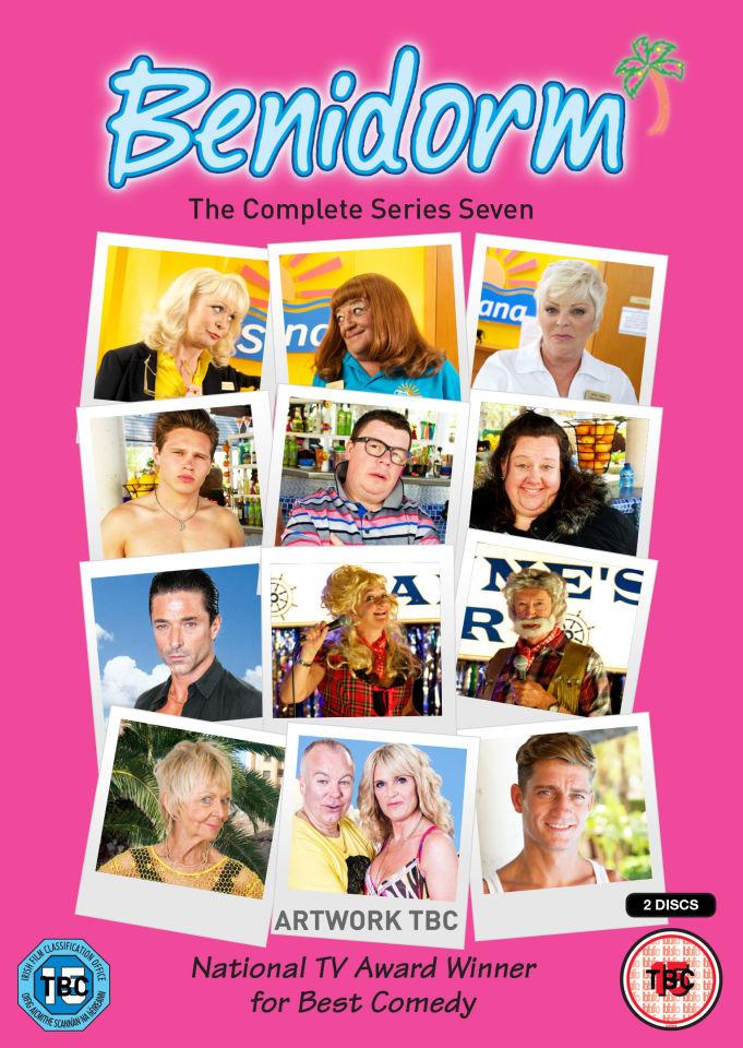 Benidorm series 7 dvd zavvi com