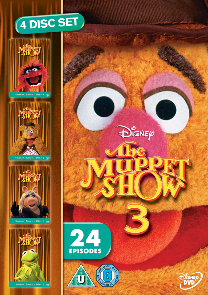 The Muppet Show Series 3 Dvd Zavvi